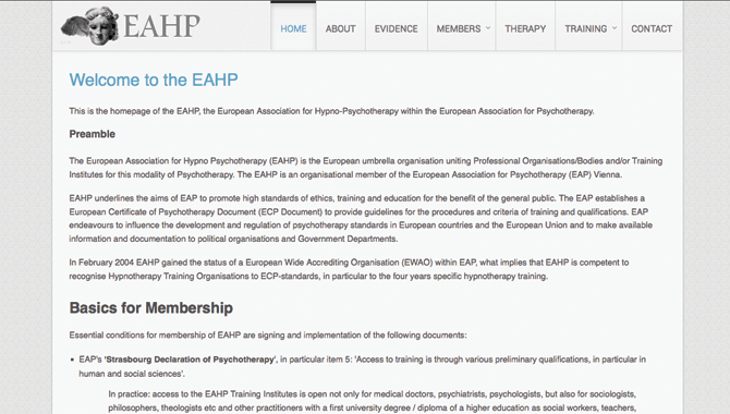 European Association for Hypno-Psychotherapy