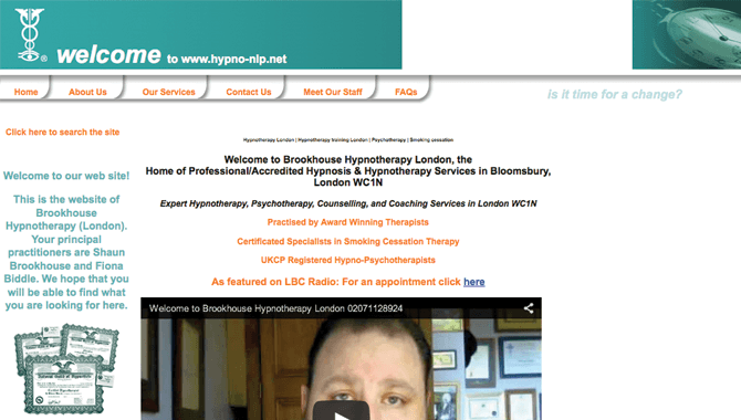 Brookhouse Hypnotherapy London
