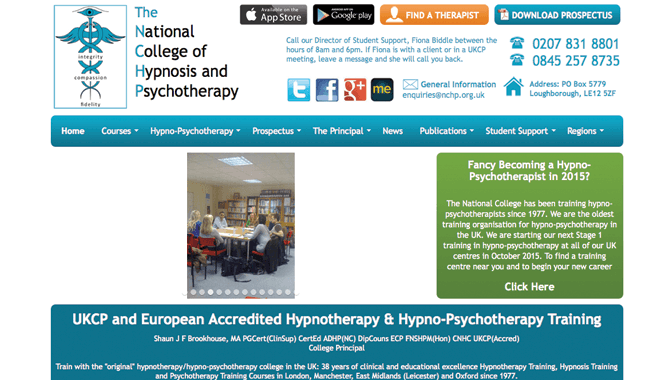 The National College of Hypnosis & Psychotherapy